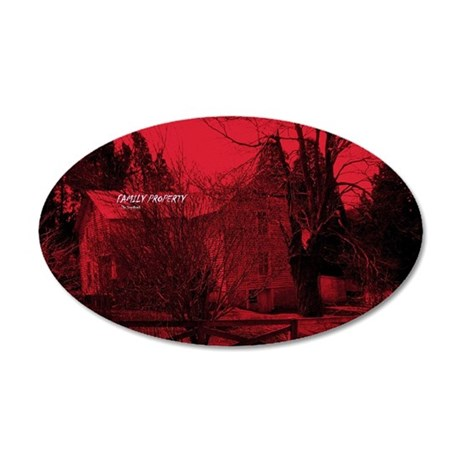 cd cover 35x21 Oval Wall Decal