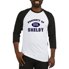 Property of shelby Baseball Jersey