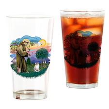 St Francis (ff) - Lynx Point Ragdol Drinking Glass
