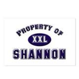Property of shannon Postcards (Package of 8)