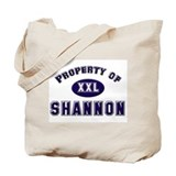 Property of shannon Tote Bag