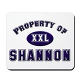 Property of shannon Mousepad