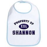 Property of shannon Bib