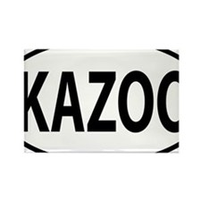 kazoo oval Rectangle Magnet