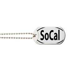SOCAL Southern California oval Dog Tags