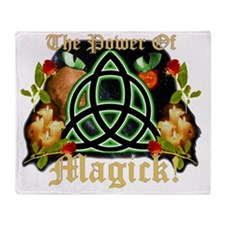 POWER-OF-MAGIC Throw Blanket