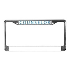 COUNSELOR.gif License Plate Frame