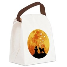 Akita22 Canvas Lunch Bag
