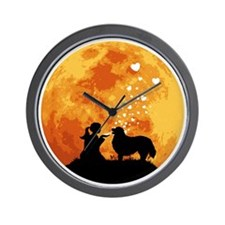 Bernese-Mountain-Dog22 Wall Clock