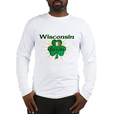 Wisconsin Irish Long Sleeve T-Shirt