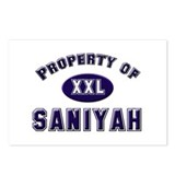 Property of saniyah Postcards (Package of 8)