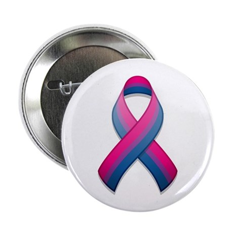 "Bi Pride Ribbon 2.25"" Button (100 pack)"