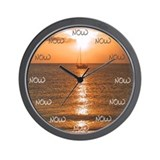 The Time Is Now Wall Clock