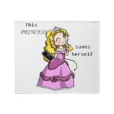 3-princess Throw Blanket