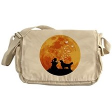 Golden-Retriever22 Messenger Bag