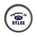 Property of rylee Wall Clock