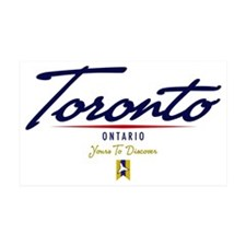 Toronto Script W Decal Wall Sticker