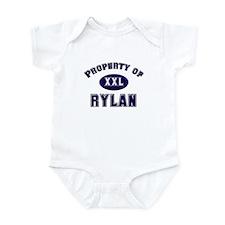 Property of rylan Infant Bodysuit