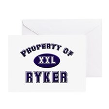 Property of ryker Greeting Cards (Pk of 10)
