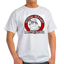 Official Old Fart - Master Baiter Ash Grey T-Shirt