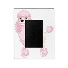 Pink Poodle Picture Frame