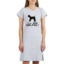 Kerry-Blue-Terrier24 Women's Nightshirt
