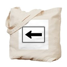 Directional Arrow Left - USA Tote Bag