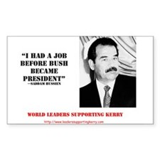 The Saddam Decal