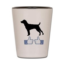 Patterdale-Terrier07 Shot Glass