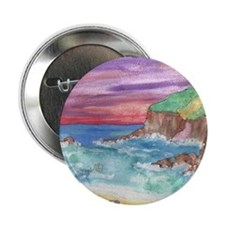 "John Muir Beach product 2.25"" Button"
