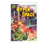 Postcards (pkg. 8) - 'Hyper Space'