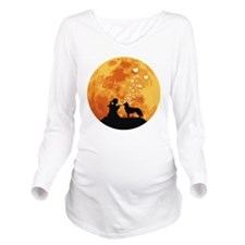 Siberian-Husky22 Long Sleeve Maternity T-Shirt