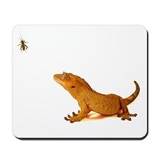 Crested Gecko & Cricket Mousepad