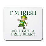 Free Beer? Mousepad