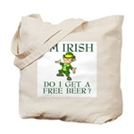 Free Beer? Tote Bag