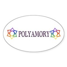 Poly Logo Oval Decal