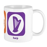 Eat Sleep Harp Small Mug