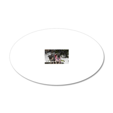 1Jan - ugg_021 20x12 Oval Wall Decal