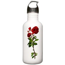 vintage-rose_y Water Bottle