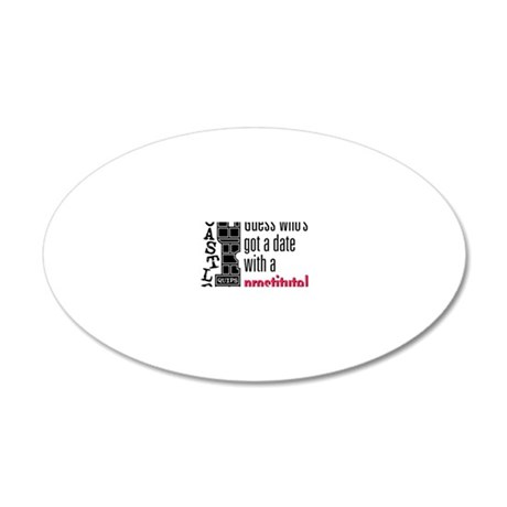 Quips_Prostitute_lite-crop 20x12 Oval Wall Decal