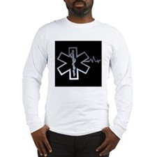 star%20of%20life%20with%20hear Long Sleeve T-Shirt