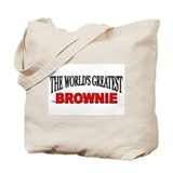 """The World's Greatest Brownie"" Tote Bag"