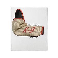 Sleeve certified K9 decoy (light)2 Throw Blanket