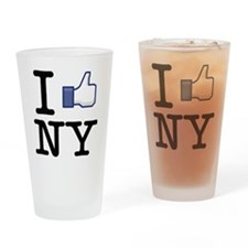 i like new york Drinking Glass