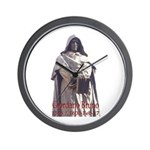 Giordano Bruno Wall Clock