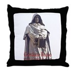 Giordano Bruno Throw Pillow