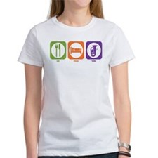 Eat Sleep Tuba Tee