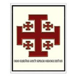 Knights Of The Holy Sepulchre Small Poster