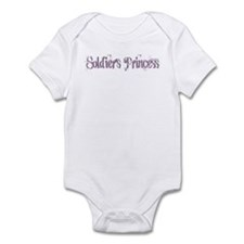 Soldier's Princess Infant Bodysuit
