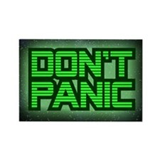 DON'T PANIC Rectangle Magnet (10 pack)